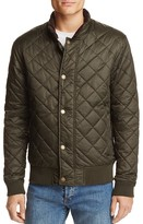 Barbour Moss Quilted Snap Jacket