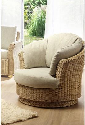 Desser Corsica Conservatory Lyon Swivel Round Chair