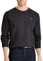 Polo Ralph Lauren Big & Tall Marled Cotton Crewneck Sweater