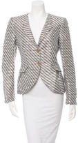Armani Collezioni Patterned Fitted Jacket w/ Tags