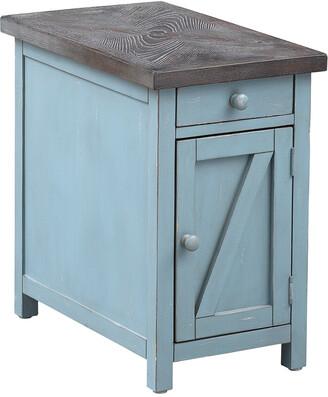Coast To Coast Bar Harbor One Drawer One Door Chairside Cabinet