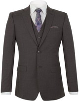 Alexandre Markham charcoal panama tailored jacket