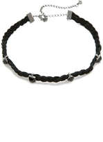 Rebecca Minkoff Multi Stone Charms Choker Necklace