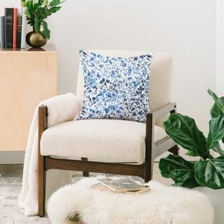 "East Urban Home Ninola Indoor/Outdoor Floral Throw Pillow Size: 20"" x 20"""