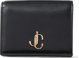 Jimmy Choo Leather Hanne Bifold Wallet
