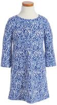 Vineyard Vines Zebra Print Dress (Toddler Girls, Little Girls & Big Girls)