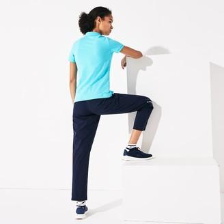 Lacoste Women's Presidents Cup Stretch Cotton Pique Golf Polo Shirt