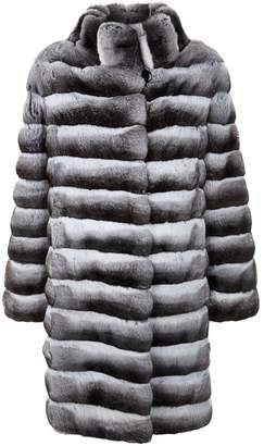 Harrods Long Chinchilla Coat