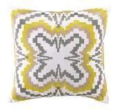 Trina Turk 18x18 Ikat Decorative Pillow - Yellow/White
