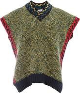 Pierre-Louis Mascia PIERRE-LOUIS MASCIA GILETDOUBLE 44226/101-18 Virgin Wool/Polyamide/Silk/Alpaca