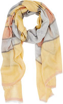Barneys New York WOMEN'S STRIPED OVERSIZED SCARF