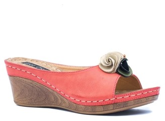GC Shoes Sydney Wedge Sandal