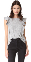 McGuire Denim Noemie Ruffle Top