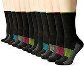 Fruit of the Loom Women's 12 Pack Sport Crew Socks