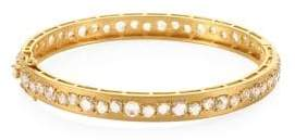 Bavna 18K Gold & Diamond Bangle