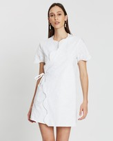 SIR the Label Delilah Wrap Tee Dress