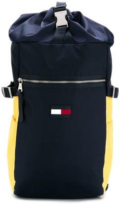 Tommy Hilfiger Nautical Ripstop Drawstring Backpack
