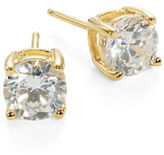 Crislu Cubic Zirconia Stud Earrings