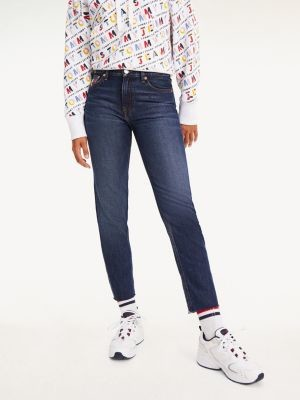 Tommy Hilfiger Izzy High Rise Slim Cropped Jeans