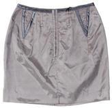 CNC Costume National Silk Skirt