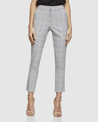 Oxford Emma Check Suit Trousers