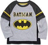 Novelty T-Shirts Boys Long Sleeve Batman T-Shirt-Toddler