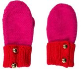 Kate Spade Wool Colorblock Mittens w/ Tags