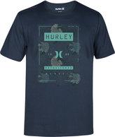 Hurley Men's Shacked Premium Graphic-Print Logo T-Shirt