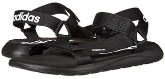 adidas Comfort Sandal (Core Black/Core Black/Footwear White) Athletic Shoes