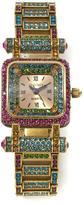 "Heidi Daus Timeless Beauty"" Crystal Link Bracelet Watch"