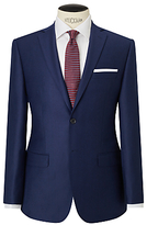 Daniel Hechter Flannel Tailored Suit Jacket, Blue