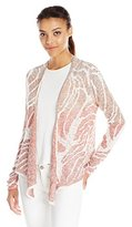 Nic+Zoe Women's Sunset Coral Cardy