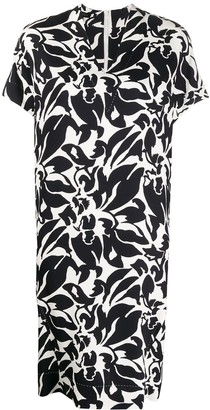 Escada Floral-Print Shift Dress