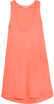 Splendid Vintage Whisper Supima Cotton-jersey Mini Dress - Coral