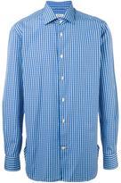 Kiton plaid shirt
