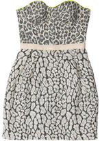 Matthew Williamson Strapless Patterned Dress