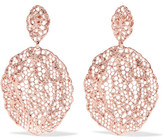 Aurelie Bidermann Lace Rose Gold-plated Earrings