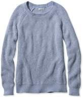 L.L. Bean L.L.Bean Shaker-Stitch Crewneck Sweater