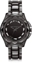 Karl Lagerfeld 7 43.5 mm Gunmetal IP Stainless Steel Unisex Watch