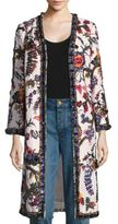 Tory Burch Rylie Embroidered Linen Jacket