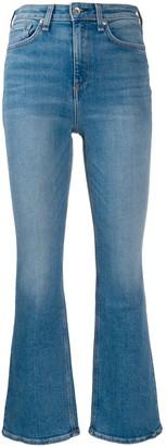 Rag & Bone Nina high rise flared jeans