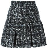 Dolce & Gabbana bouclé mini skirt - women - Silk/Cotton/Acrylic/Wool - 44