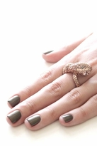 Wildfox Couture Jewelry Snake Ring in Antiqued Rose Gold