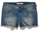Joe's Jeans Girl's Easy Distressed Frayed Shorts