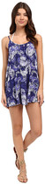 Roxy Windy Fly Away Print Dress Cover-Up