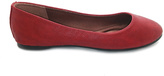 Comfort Zone Red Afra Round-Toe Flat