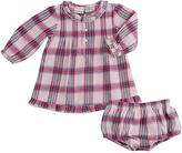 Babies R Us Cynthia Rowley Pretty in Plaid Dress Set with Panty - Pink Plaid (12 Months)