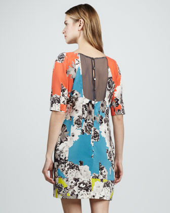 Yoana Baraschi Printed Tunic Dress