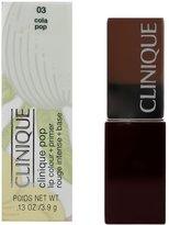 Clinique Pop Lip Color + Primer, No. 03 Cola, 0.13 Ounce, W-C-6769