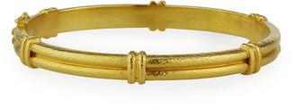 Elizabeth Locke 19k Narrow Bangle Bracelet